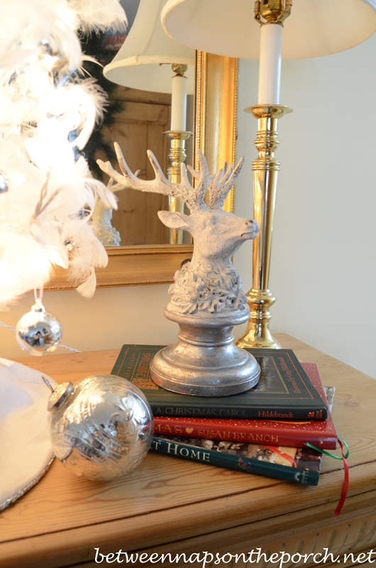 Christmas Decorating with Books