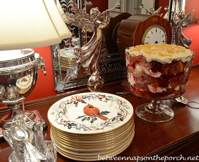Christmas Dessert, Cranberry Trifle Recipe
