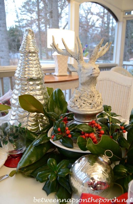 Christmas Porch Trees