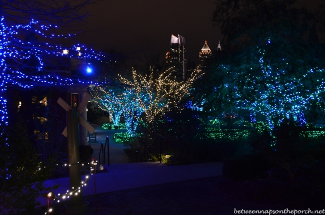 Garden Lights, Atlanta Botanical Gardens Holiday Nights