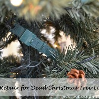 Don't Throw Out Those Dead Christmas Tree Lights