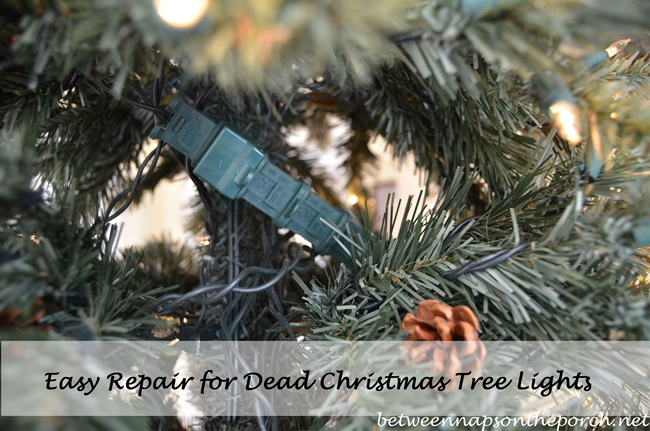 how to repair or fix a blown fuse on your christmas tree lights - Christmas Light Fuse