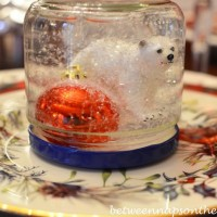 Make a Snow Globe for the Holidays 1