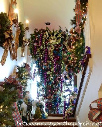 Category: Mardi Gras Decor. The Christmas Tree ... - Mardi Gras Decor €� Between Naps On The Porch