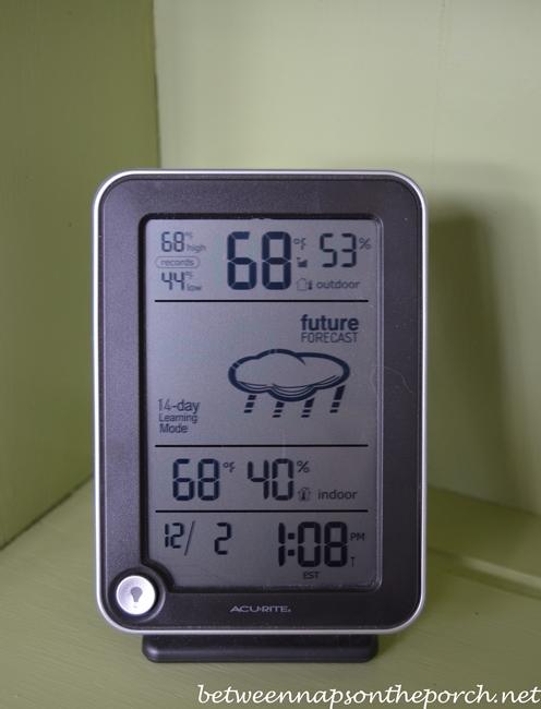 Temperature on 12-02-12