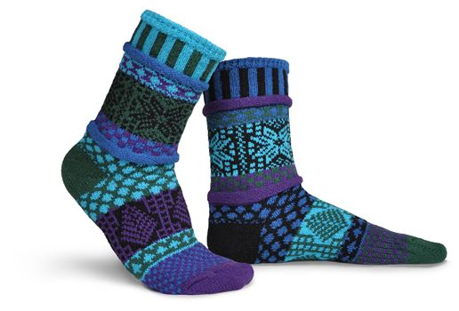 The Blue Spruce Socks