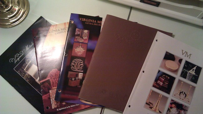 Virginia Metalcrafters Catalogs and brochures