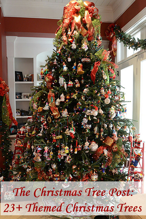 23 themed christmas tree ideas - Disney Themed Christmas Decorations