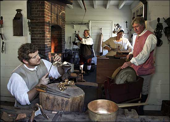Foundry at Colonial Williamsburg