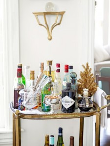 Eddie Ross's Bar Arrangement as seen in Country Living