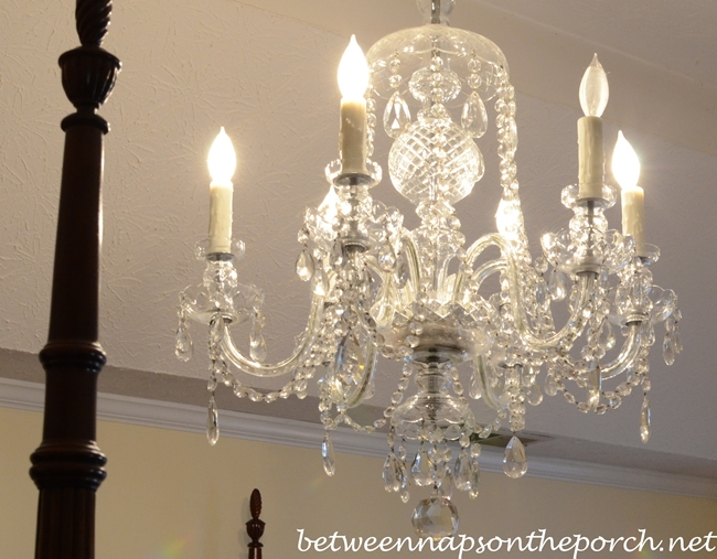 Crystal Chandelier for the Master Bedroom