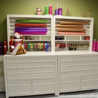 A Fabulous Gift-Wrapping and Craft Room
