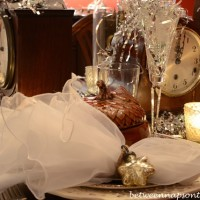 A New Year's Eve Table Setting