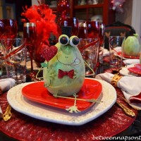 A Valentine's Day Table Setting, Elegant and Whimsical