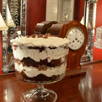 Yummy Devil's Food Toffee Trifle Recipe