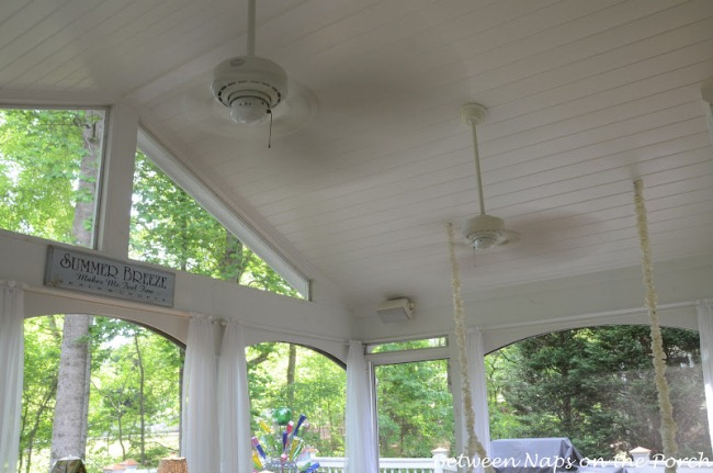 9 Great Features For Your Screened Porch Between Naps On The Porch