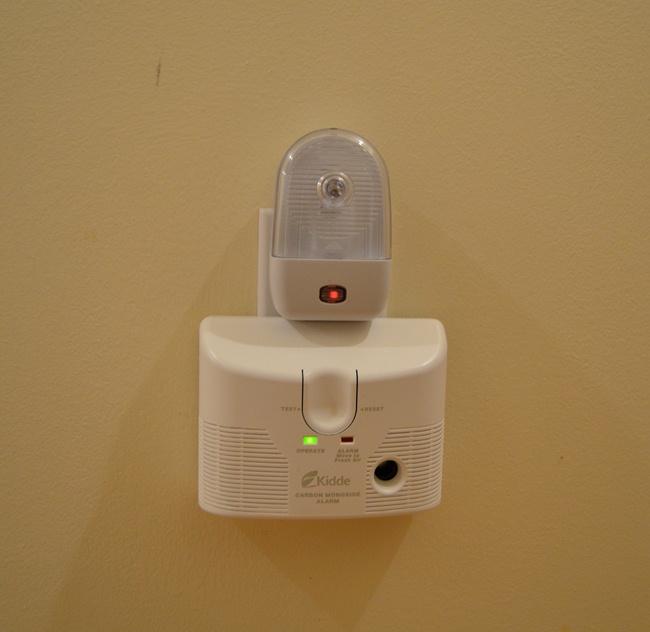 New Carbon Monoxide Detector