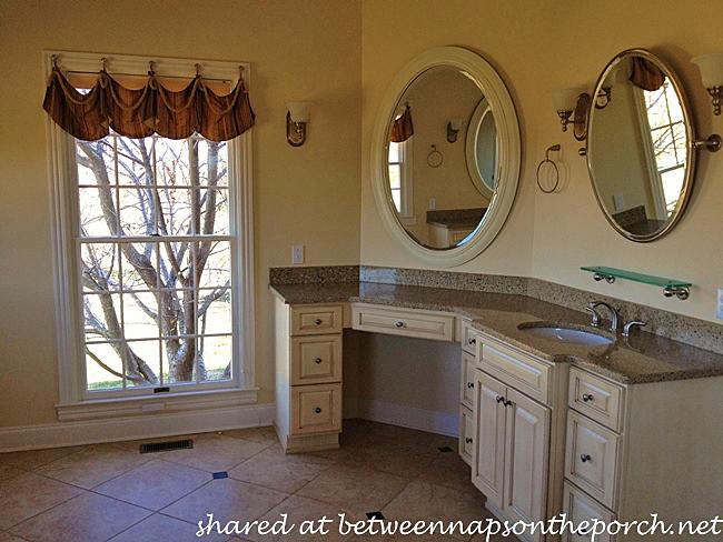 Restoration Hardware Inspired Bathroom, Before Pic