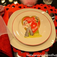 Valentine's Day Table Settings, Great for the Kids