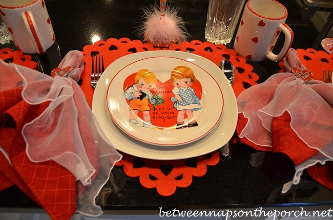 Valentine's Day Card Plates