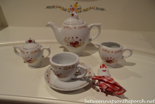 Valentine's Day Tea Set 3