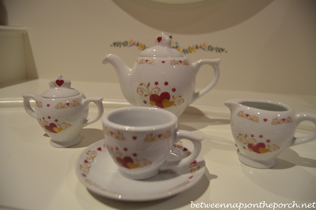 Valentine's Day Tea Set 4