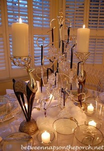 Winter Table Setting with Noritake Colburn China