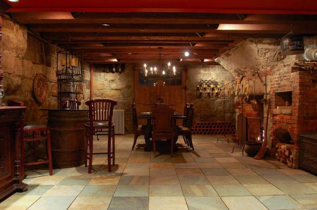 Amazing Wine Cellar in Historic Home