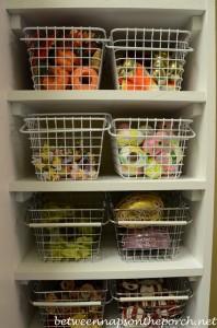 Flatware, Napkin Rings, and Dishware Storage