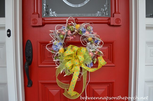 Easter Wreath for Front Door