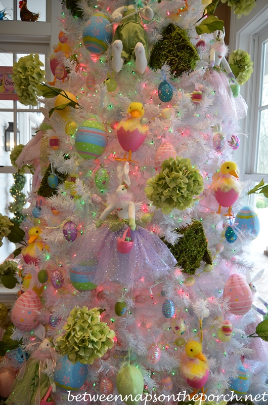 Decorate Christmas Tree For Easter : Decorating for easter and springtime