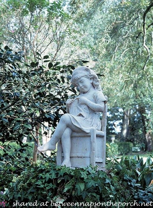 Nice Garden Statue Of Little Girl