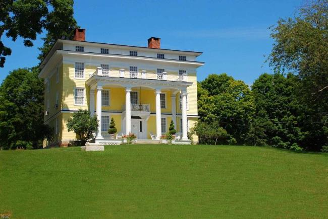 Historic Greek Revival Home for Sale in New York