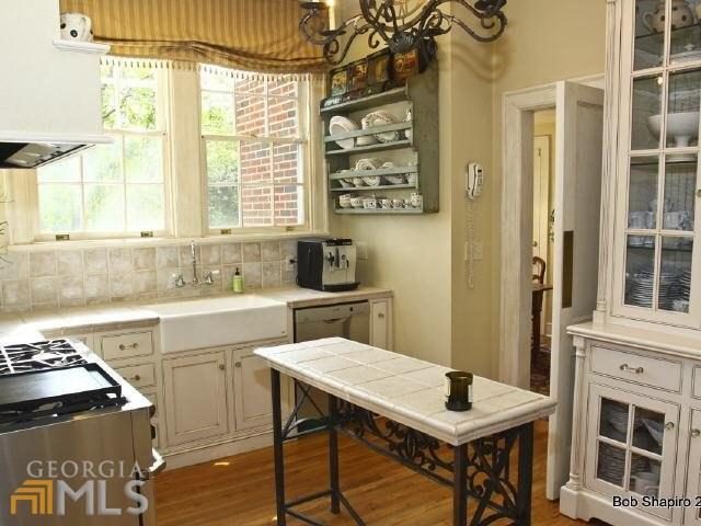 Kitchen in Historic Home in Newnan Georgia