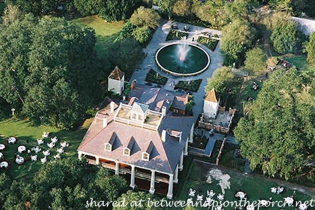 Houmas House Plantation Aerial View