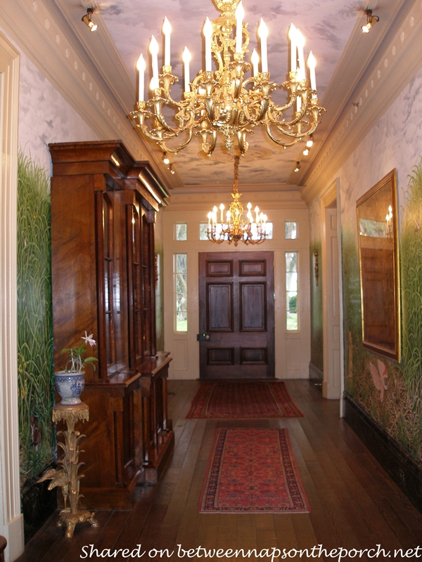 Houmas House Plantation Entry Hall