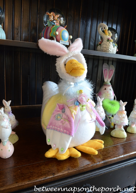 Easter Duck in Bunny Ears
