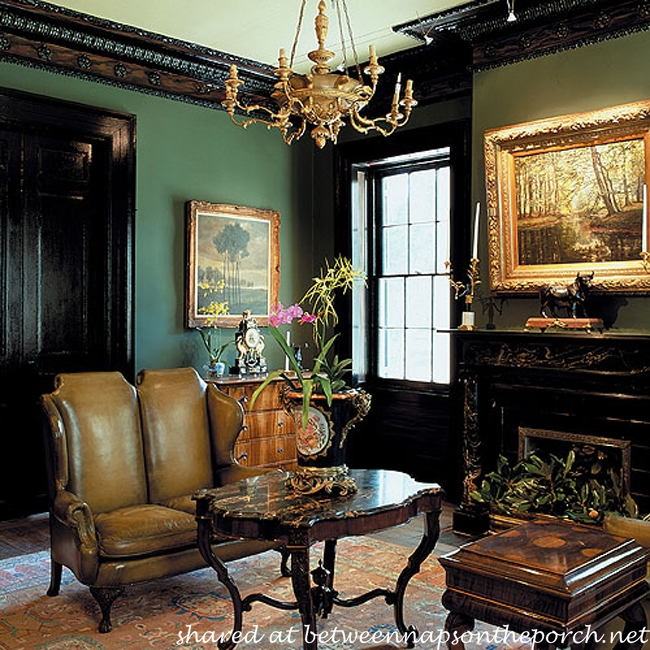 Victorian Living Room: Houmas House Plantation And Gardens In Darrow, LA