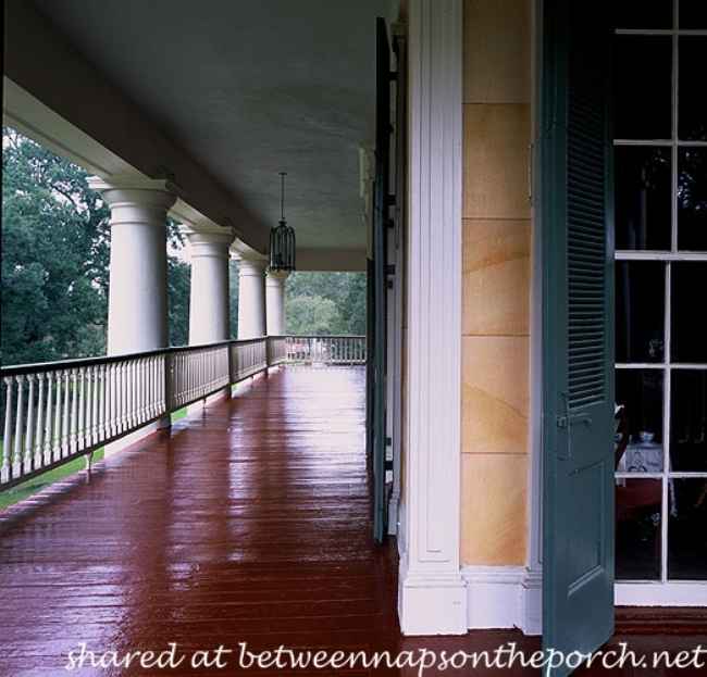 Porch at Houmas House Plantation