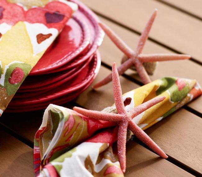 Pottery Barn Starfish Napkin Ring Knock-off
