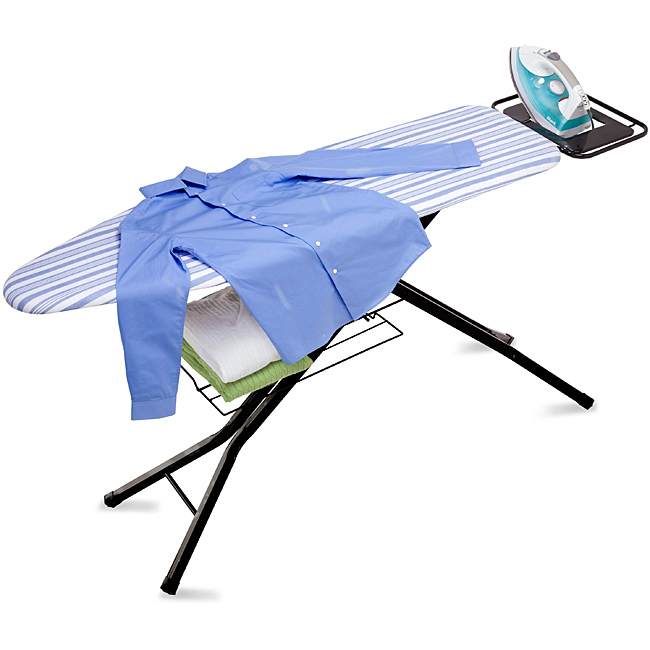 Wide Ironing Board Makes Ironing Easier