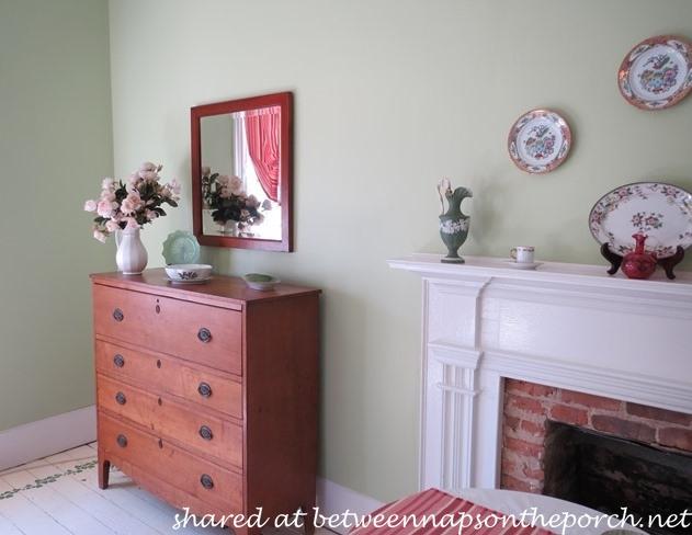 Bedroom in Historic Home