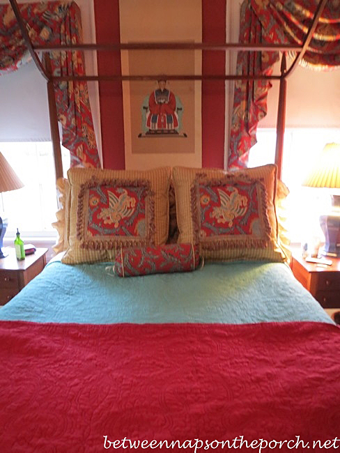 Canopy Bed in Historic Home