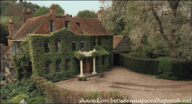 Ivy Covered English Home in movie Death at a Funeral
