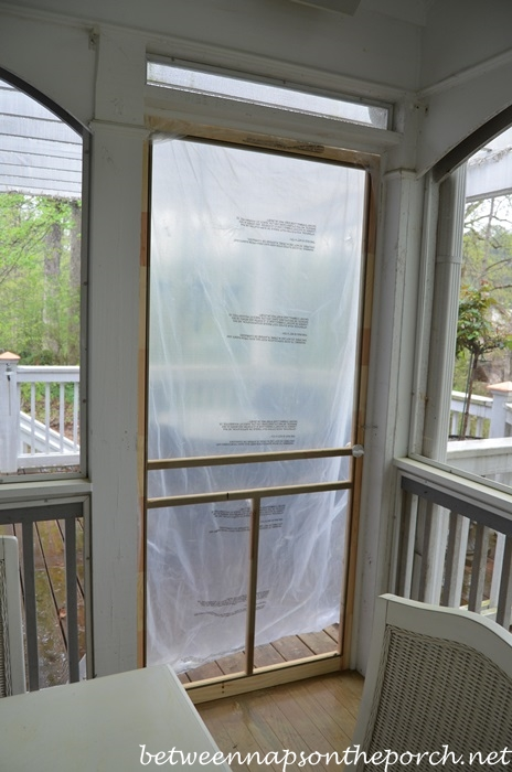 Beau New Screened Door For The Porch