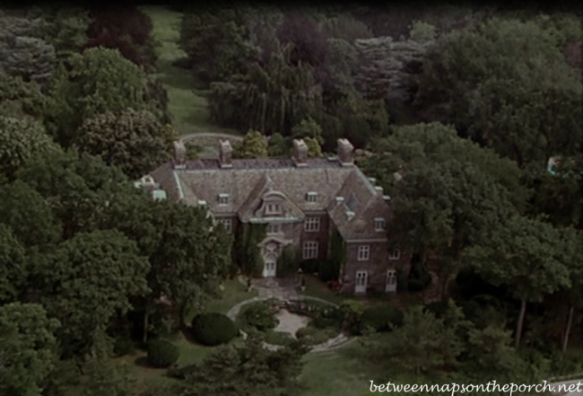 Sabrina, The Long Island Estate in the Movie