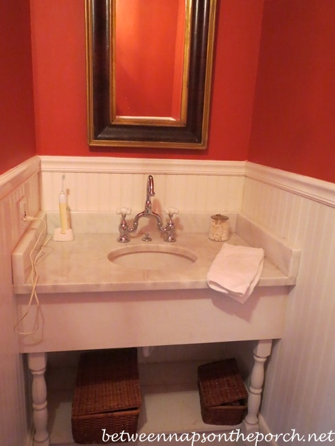 Sink in Historic Home