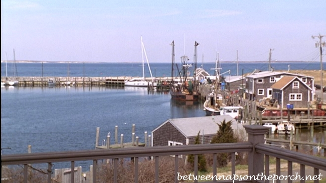 View from Deck of Cottage on Martha's Vineyard