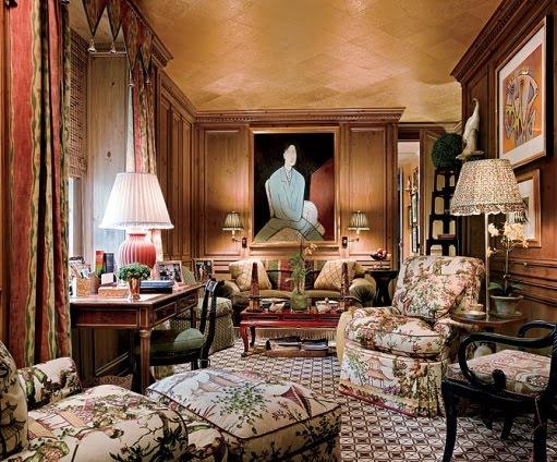 Mario buatta fifty years of american interior decoration for Interior decoration for new year