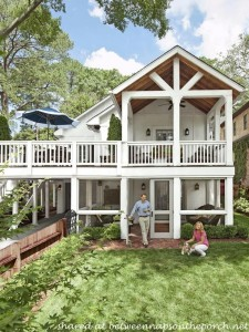 Adding a Double Porch to Home